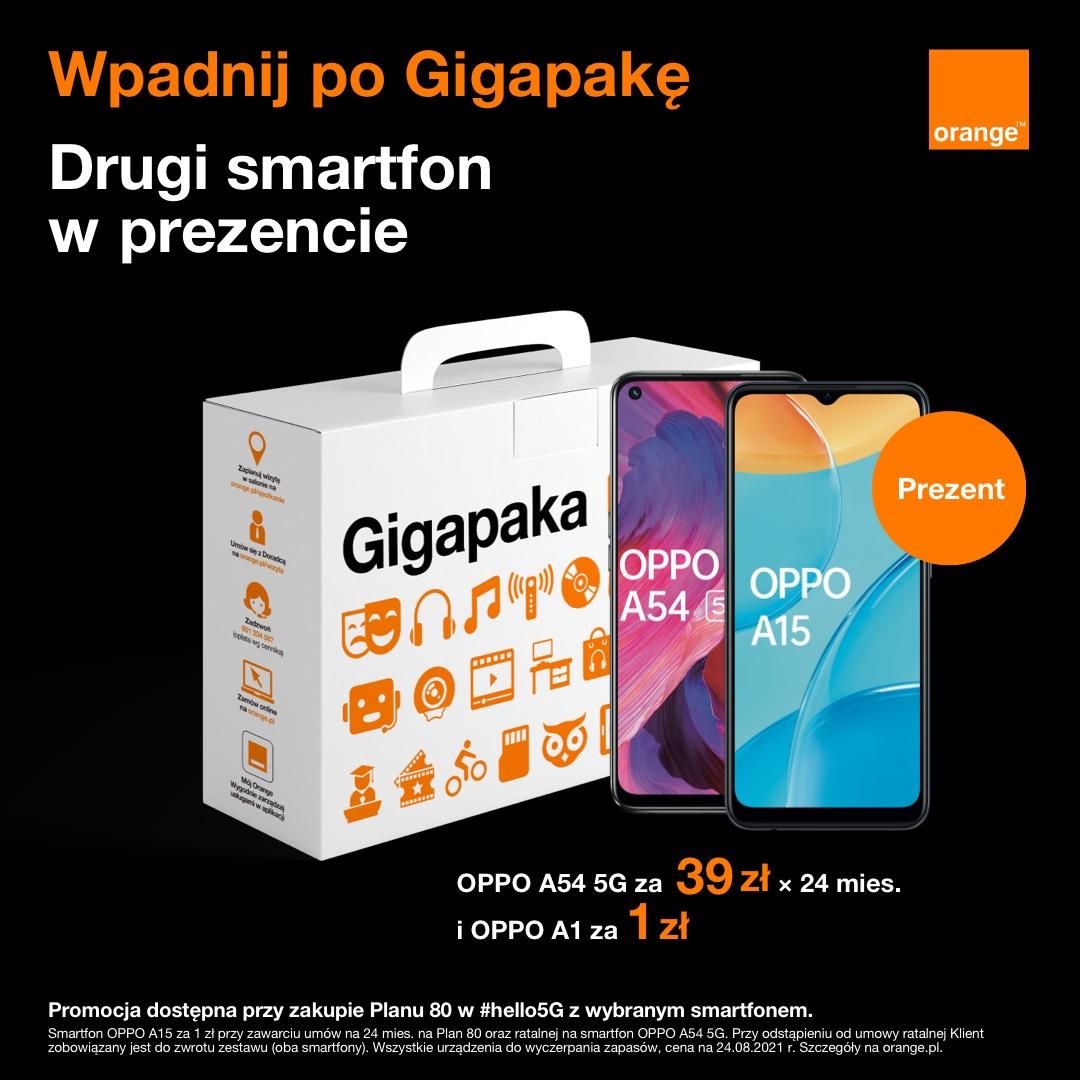 Wpadnij po Gigapakę do Orange!